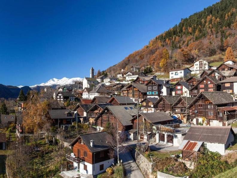 Image 0 - Casa di vacanza sguardo sulle alpi del Ticino