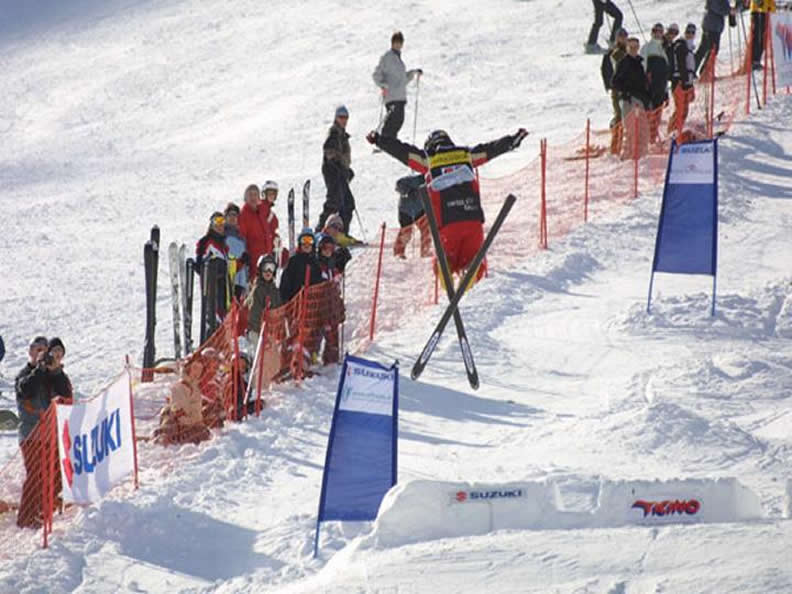 Image 1 - FIS Europa Cup Freestyle - Aerials