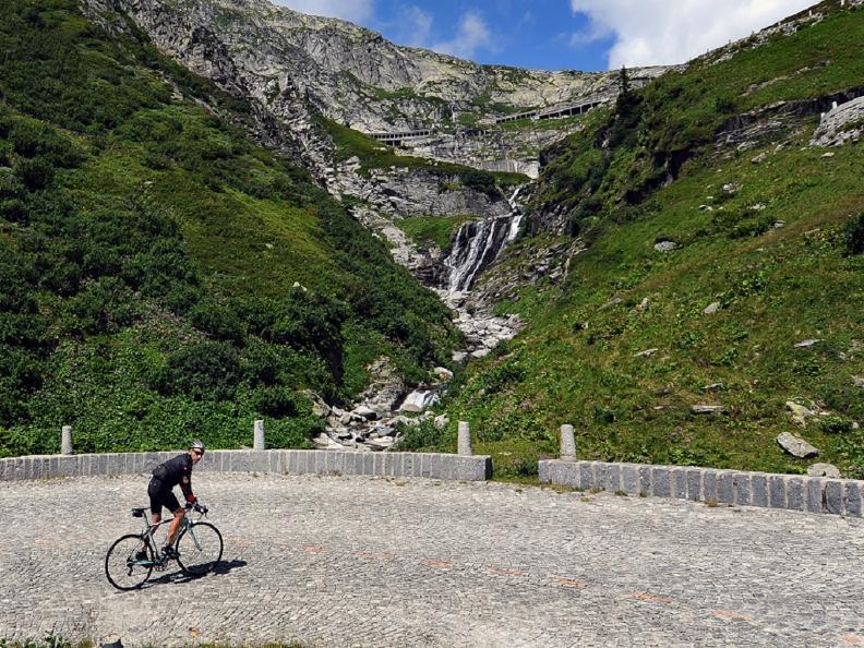 Image 1 - Tappa Tour de Suisse - Passo San Gottardo