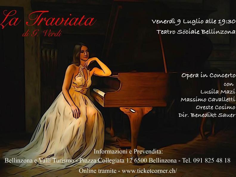 Image 0 - La Traviata: Opera in Concerto