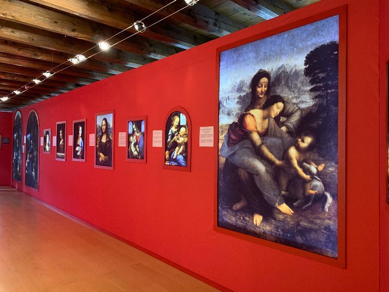 Image 2 - Exposition - Leonardo Da Vinci 3D