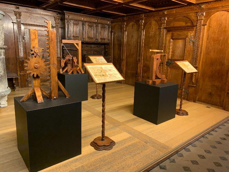 Image 4 - Exposition - Leonardo Da Vinci 3D