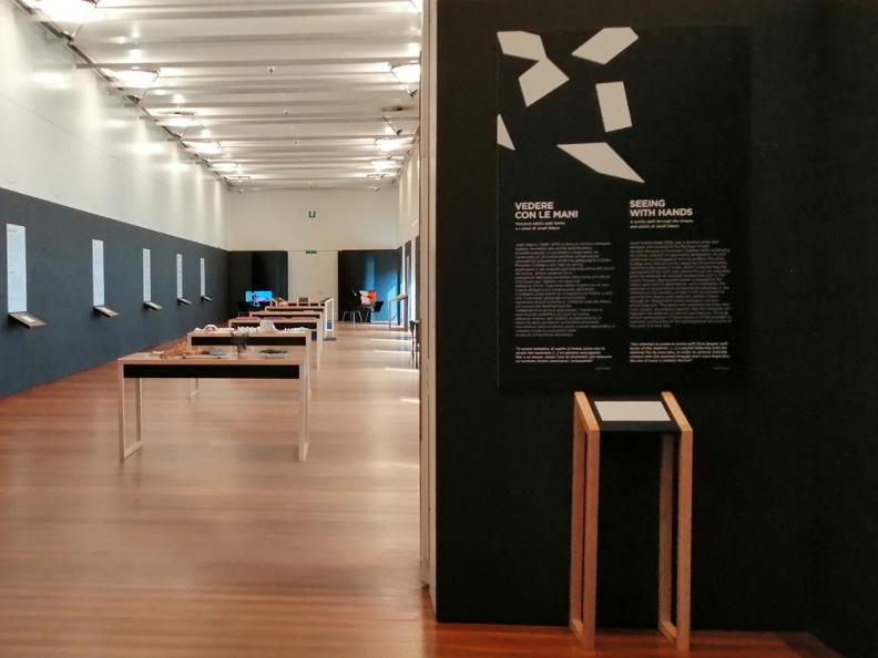 Image 1 - Exhibition at Castelgrande - Vedere con le mani