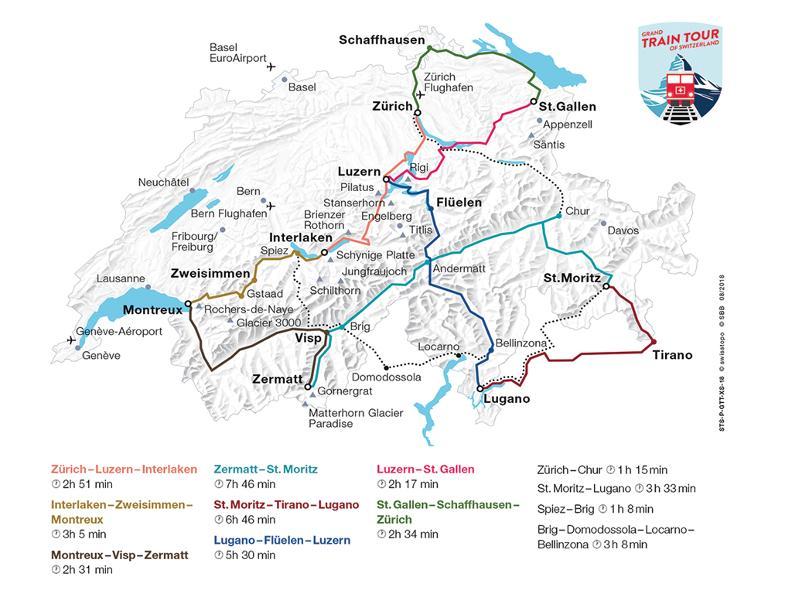Image 0 - Grand Train Tour of Switzerland