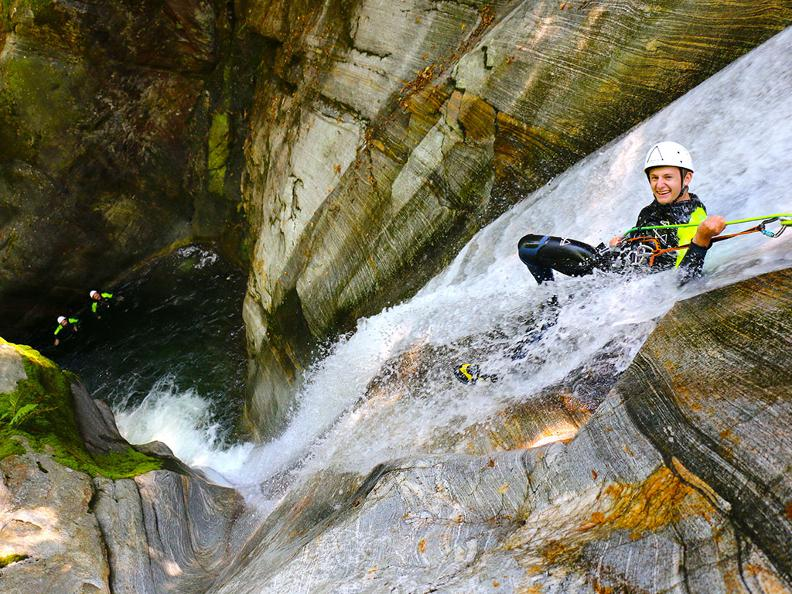 Image 11 - purelements® ticino – canyoning