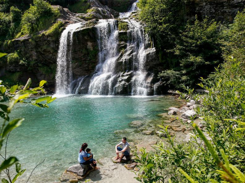 Image 1 - Der Piumogna-Wasserfall