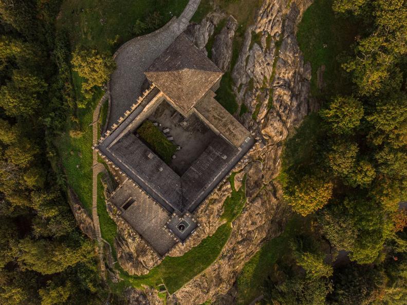 Image 3 - The Castle of Sasso Corbaro