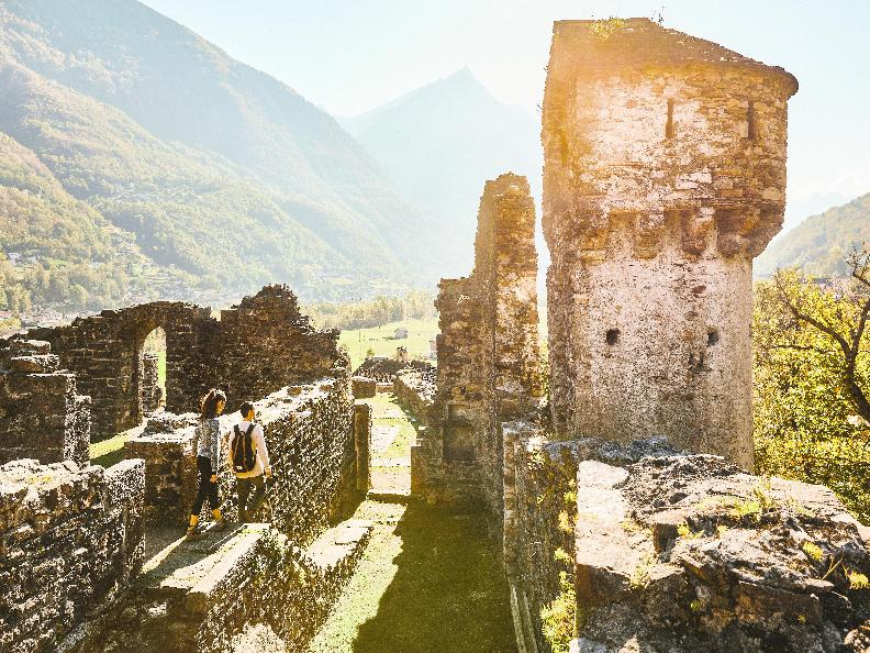 Image 1 - Ruins of the Serravalle Castel