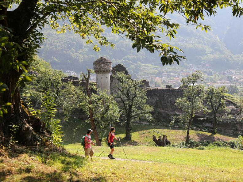 Image 5 - Die Ruinen des Castello di Serravalle