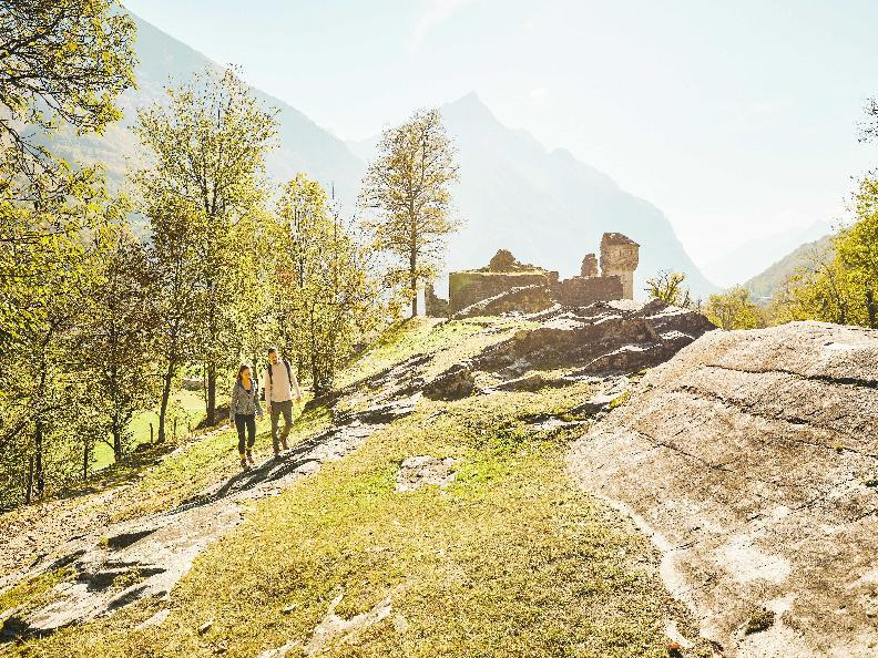Image 2 - Ruins of the Serravalle Castel