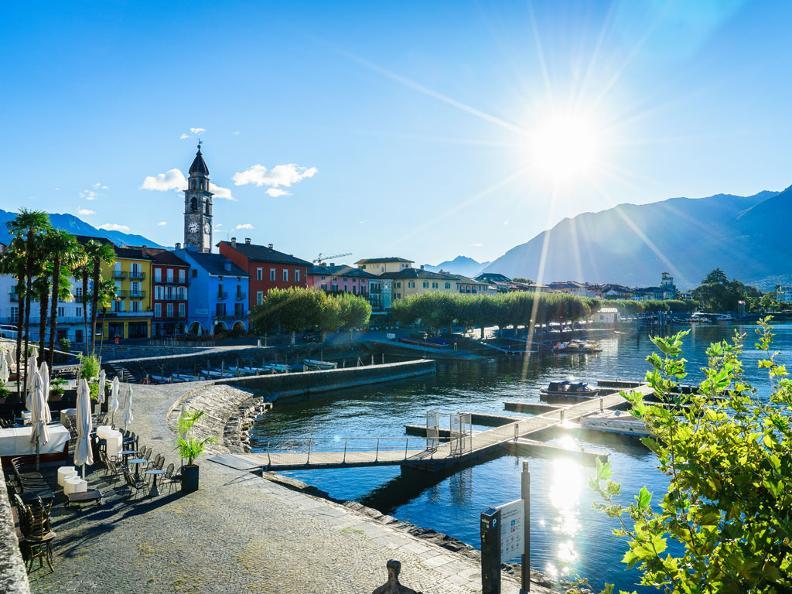 Image 0 - Ascona, il borgo affacciato sul lago