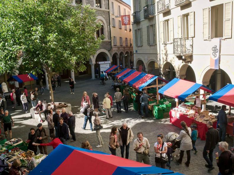 Image 3 - Le marché de Bellinzona