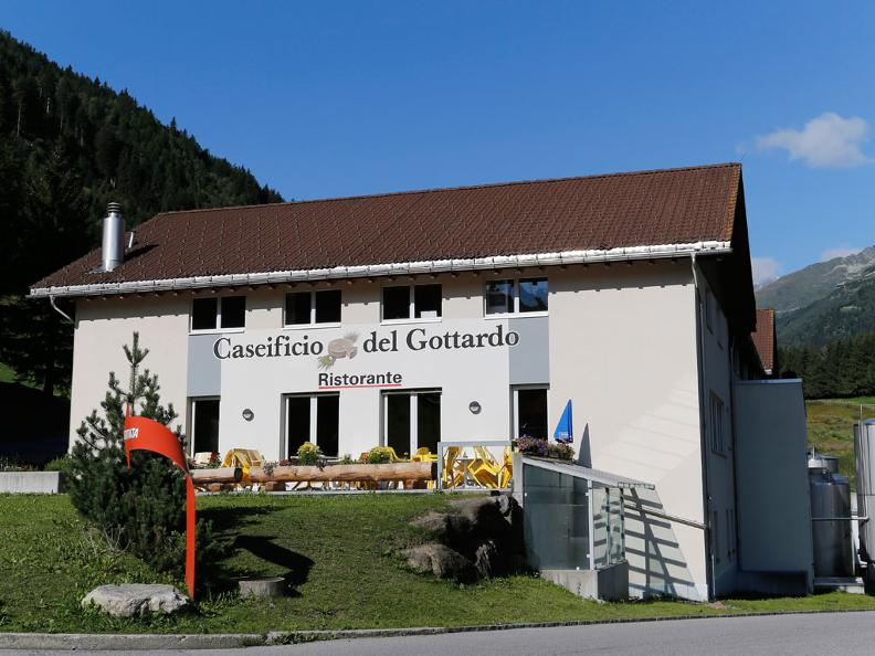 Image 2 - Gotthard's cheese factory