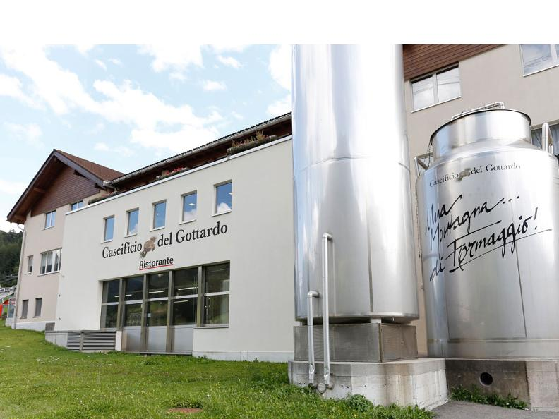 Image 0 - Gotthard's cheese factory