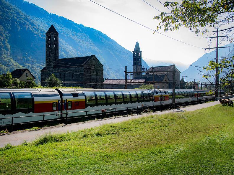 Image 1 - Grand Train Tour of Switzerland