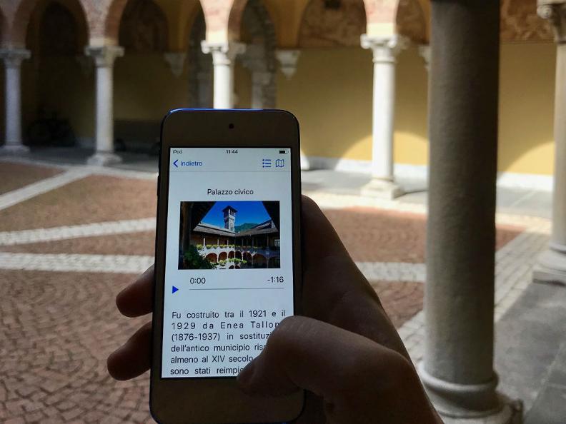 Image 2 - Audioguida - Città di Bellinzona