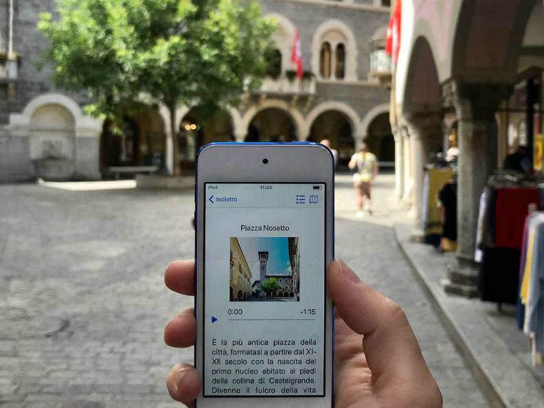 Image 3 - Audioguida - Città di Bellinzona