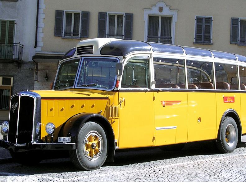 Image 0 - Getting around with the PostBus