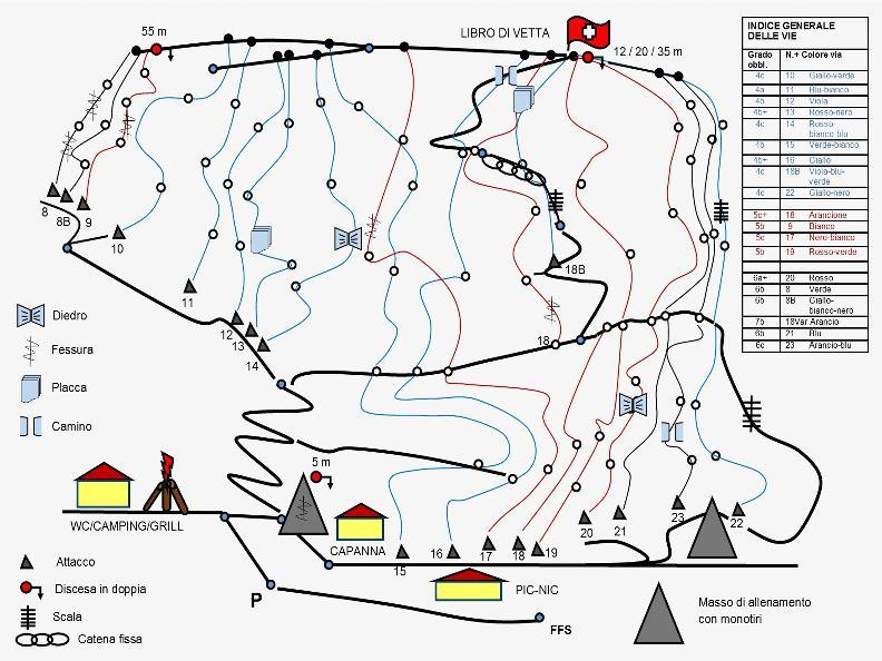 Image 5 - Palestra di Roccia San Paolo - Bellinzona