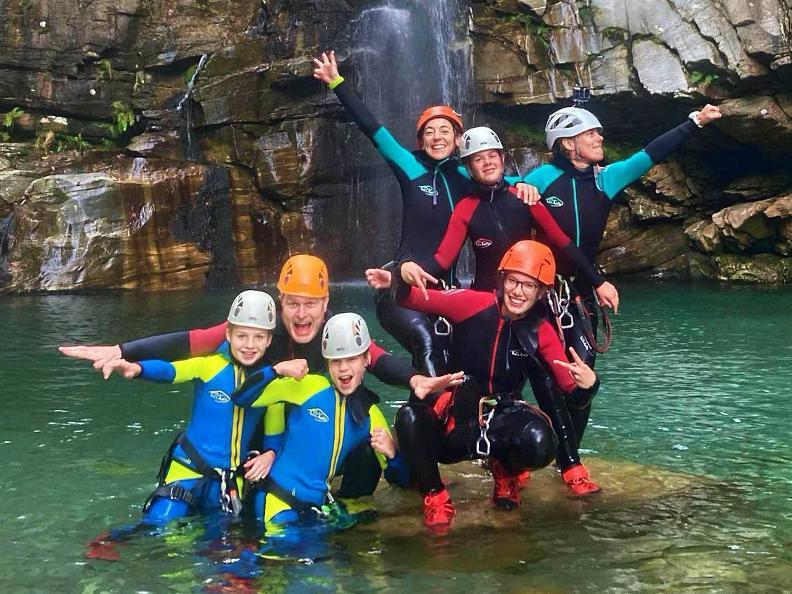 Image 0 - Ticino Outdoor - canyoning, via ferrata, rock climbing