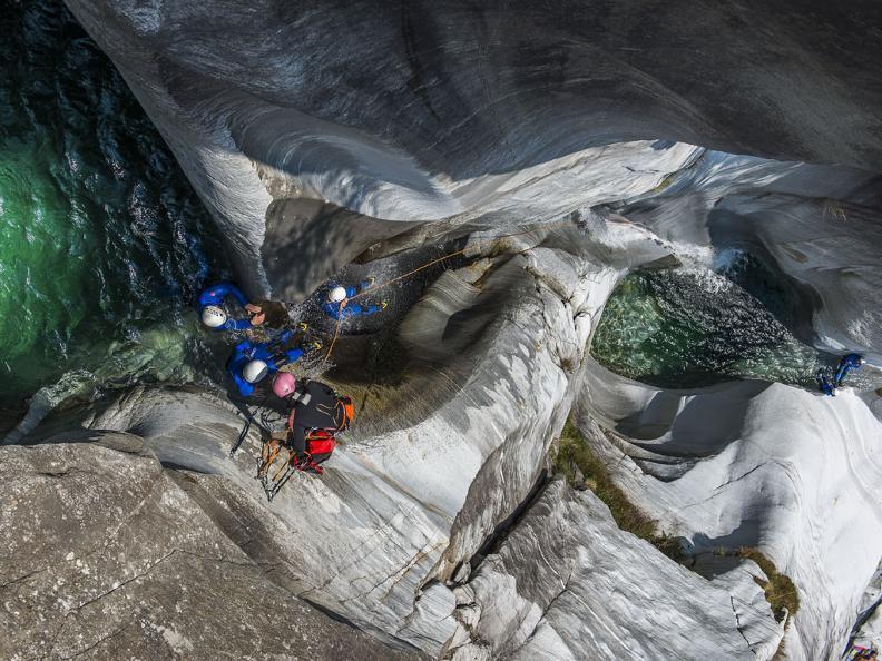 Image 3 - Ticino Adventures  - canyoning