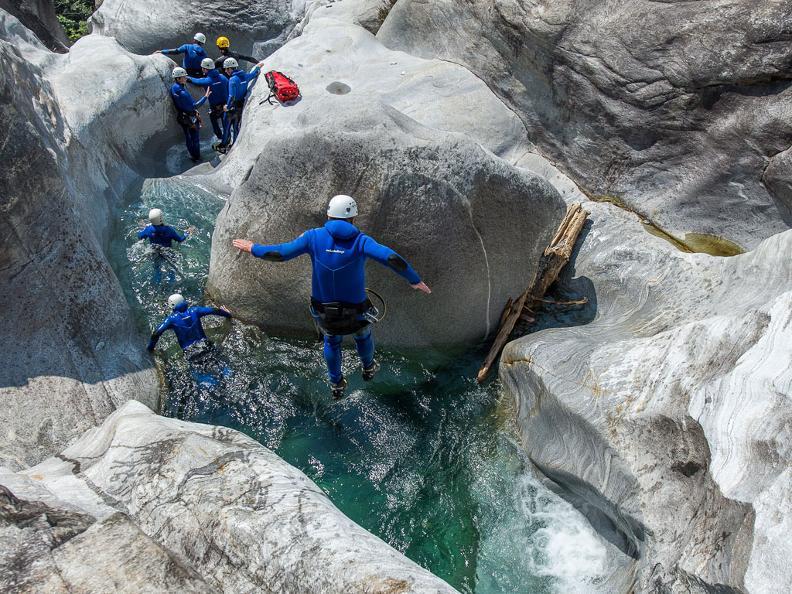 Image 5 - Ticino Adventures - canyoning