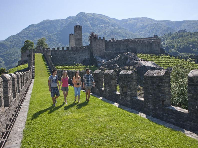 Image 2 - Die Burgen von Bellinzona