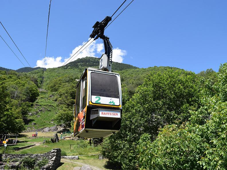 Image 0 - Seilbahn Monte Carasso-Curzútt-Mornera