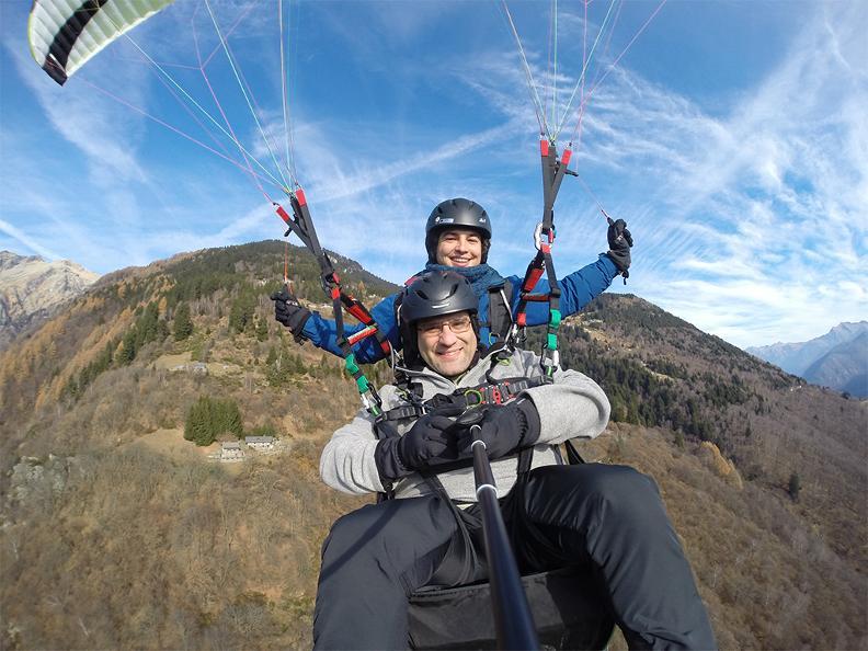 Image 2 - FlyTicino – Paragliding tandem flights in Bellinzonese e Alto Ticino