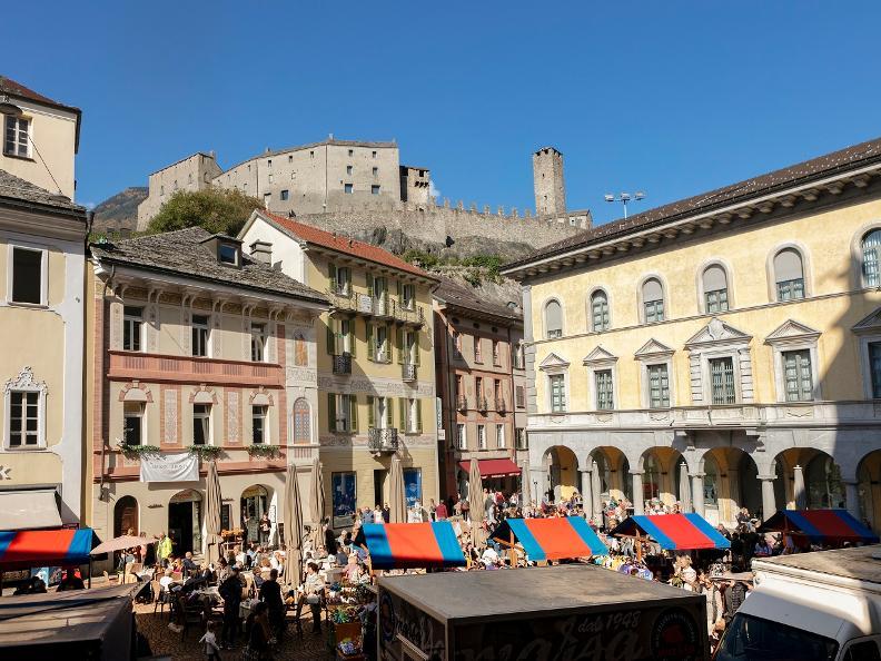 Image 2 - Le marché de Bellinzona