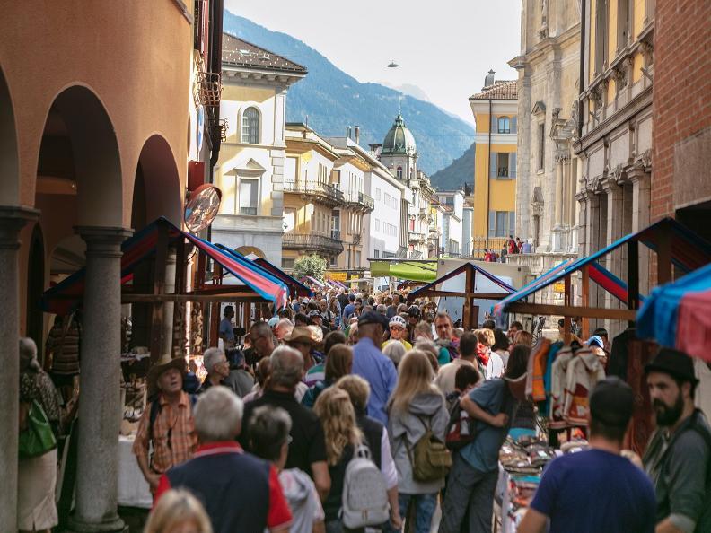 Image 5 - Le marché de Bellinzona