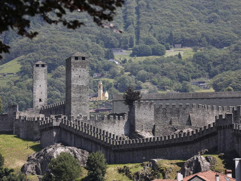 Image 8 - The three Medieval castles of Bellinzona