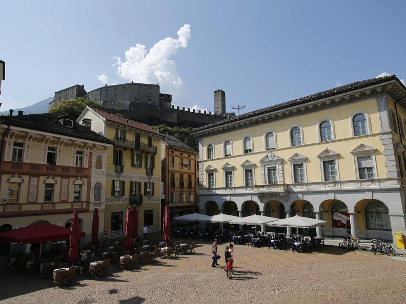 Image 12 - The three Medieval castles of Bellinzona