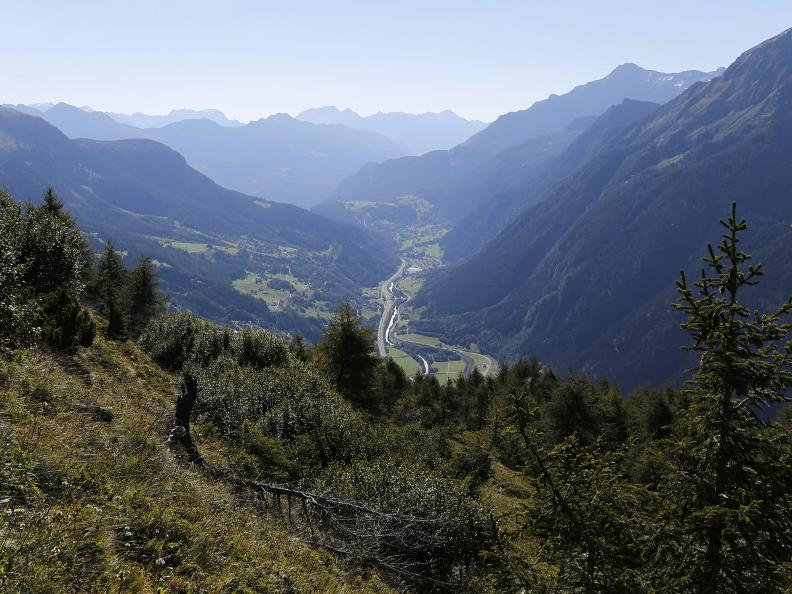 Image 3 - Path of the Piora Valley lakes