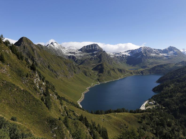 Image 4 - Path of the Piora Valley lakes