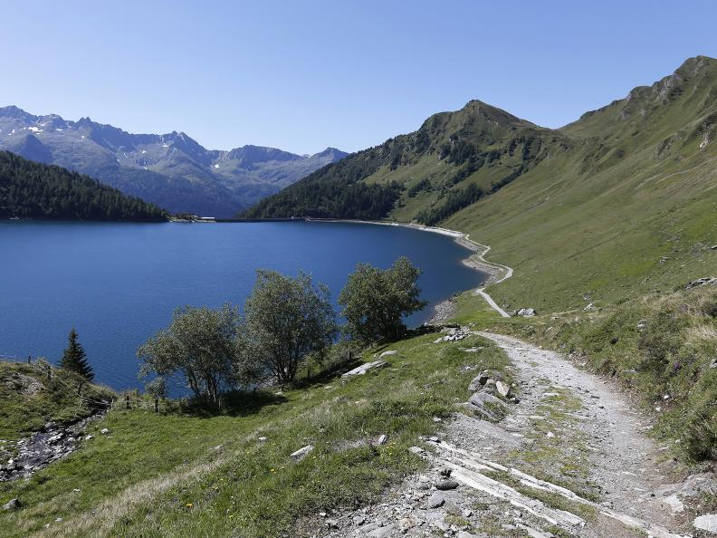 Image 7 - Path of the Piora Valley lakes