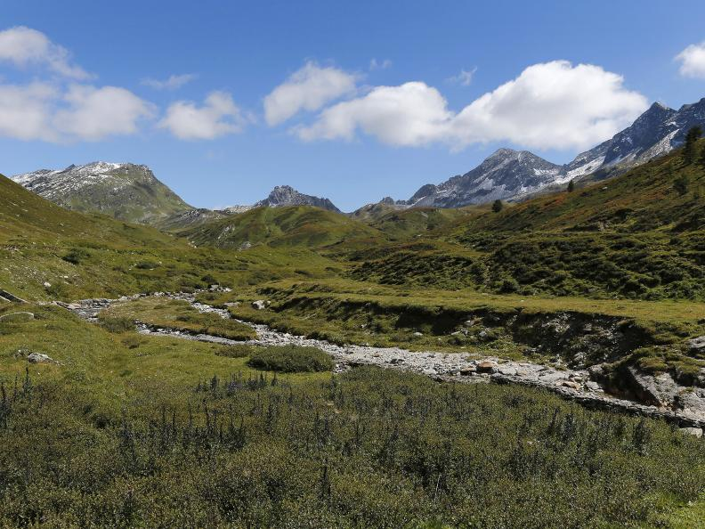 Image 14 - Path of the Piora Valley lakes
