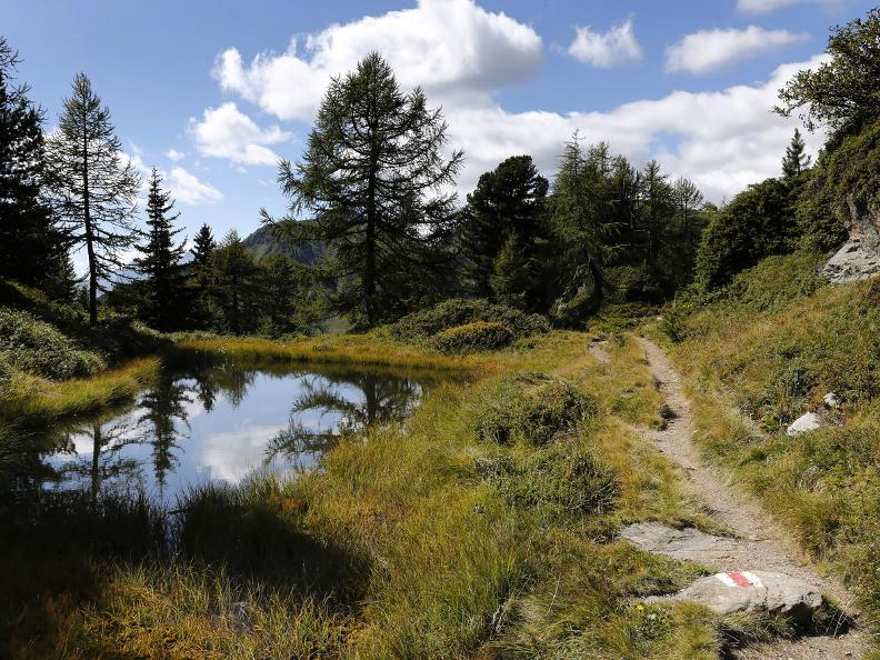 Image 18 - Path of the Piora Valley lakes