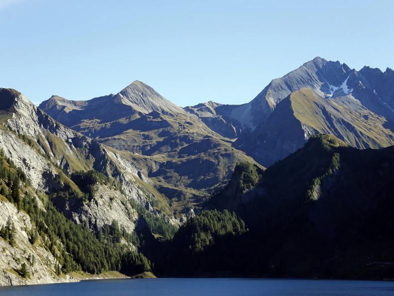 Image 17 - L'altopiano della Greina e il suo arco