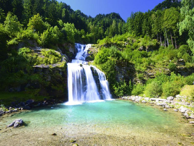 Image 0 - Faido et la cascade Piumogna