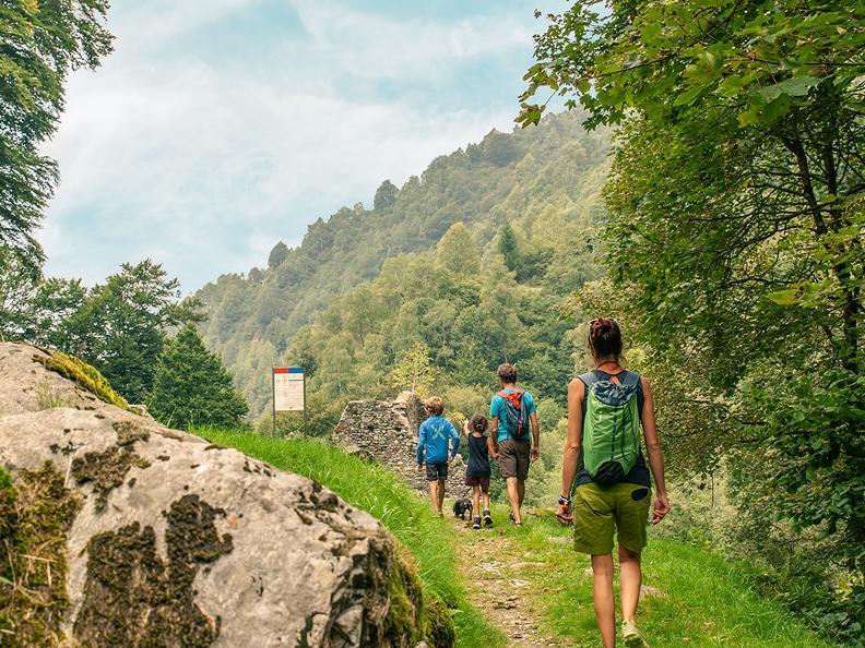 Image 2 - The Via del Ferro in Morobbia Valley