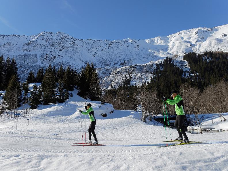 Image 2 - Cross-country skiing Campra - Blue trail