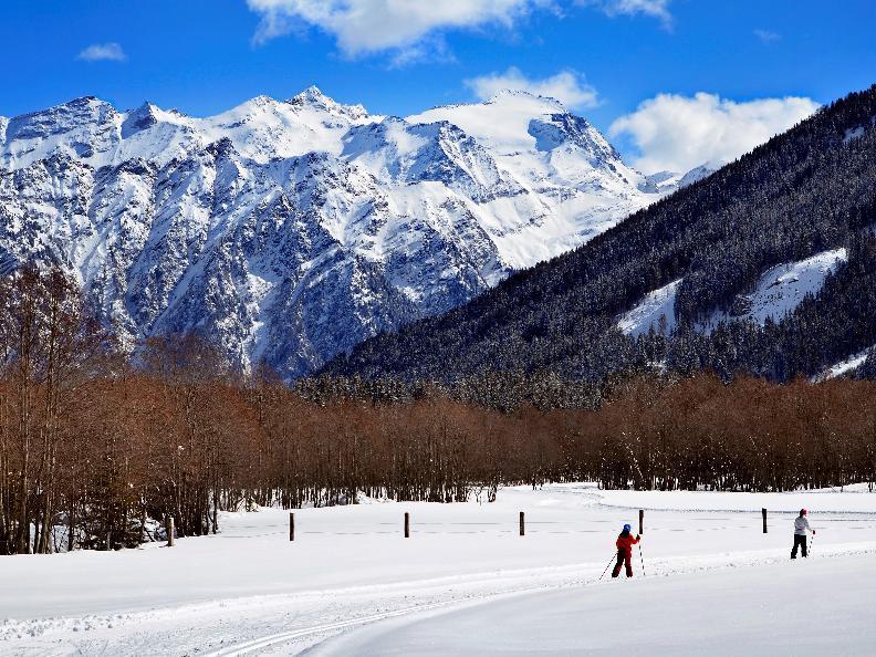 Image 1 - Ski nordique Campra - Piste bleue