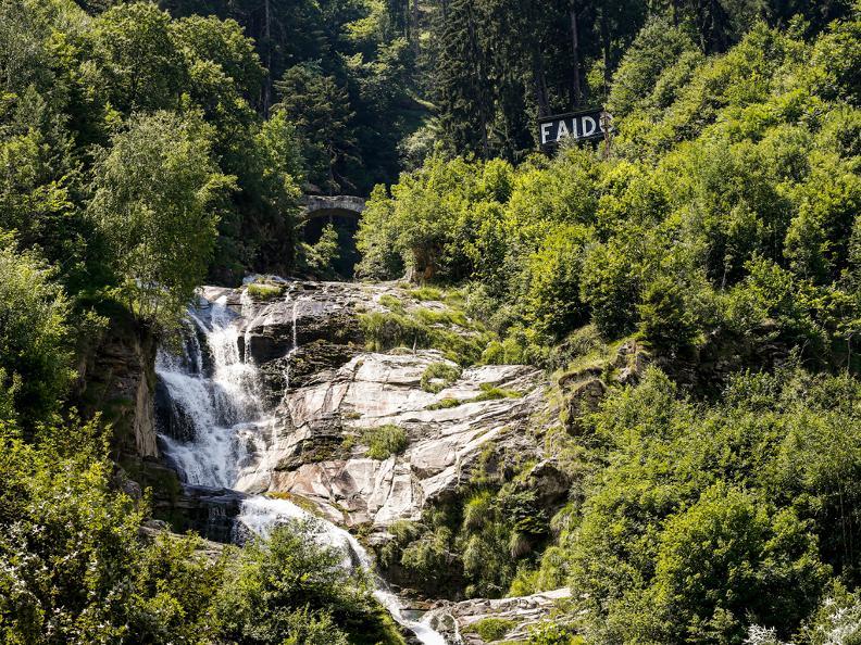 Image 2 - Parcours Yoga - Cascade de la Piumogna