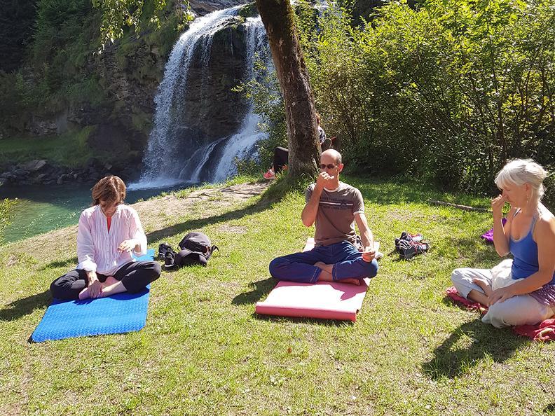 Image 3 - Parcours Yoga - Cascade de la Piumogna