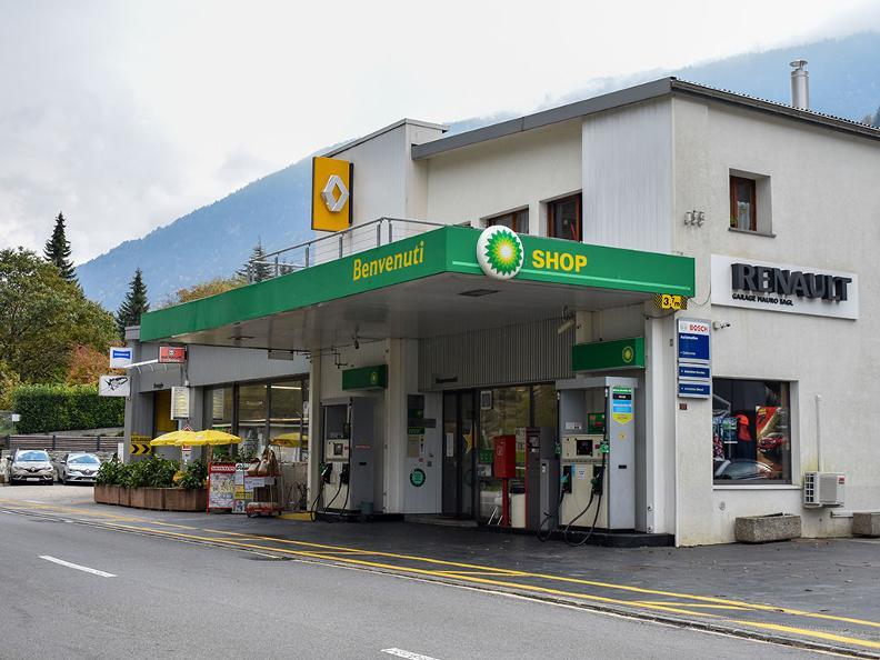 Image 0 - Stazione di servizio BP Acquarossa